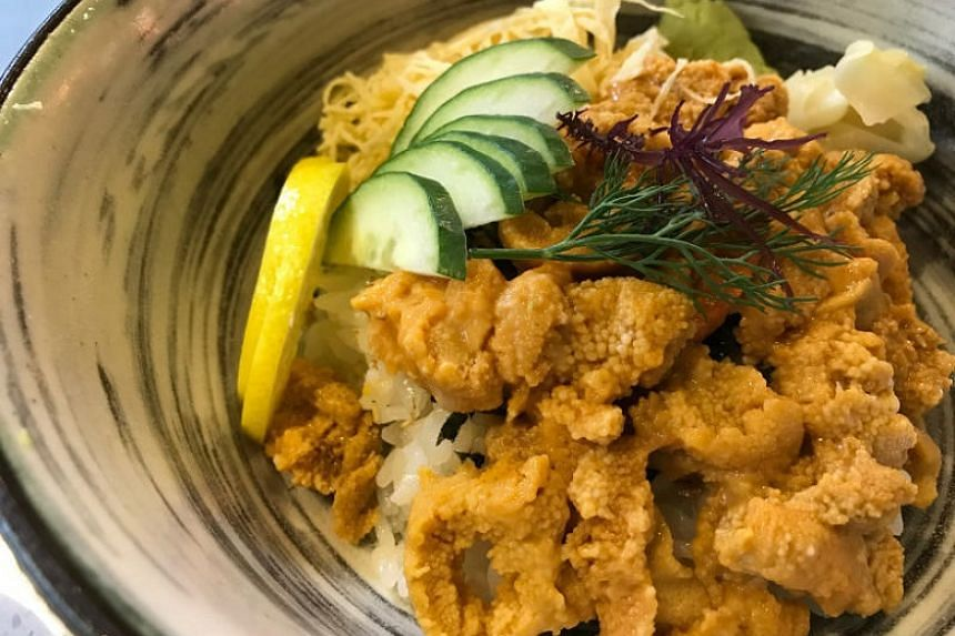 Uni chirashi don by Uni Gallery by OosterBay.