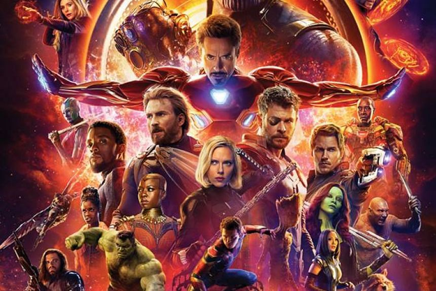 Infinity War also broke the record for highest North American opening weekend, raking in US$250 million at US and Canadian box offices.
