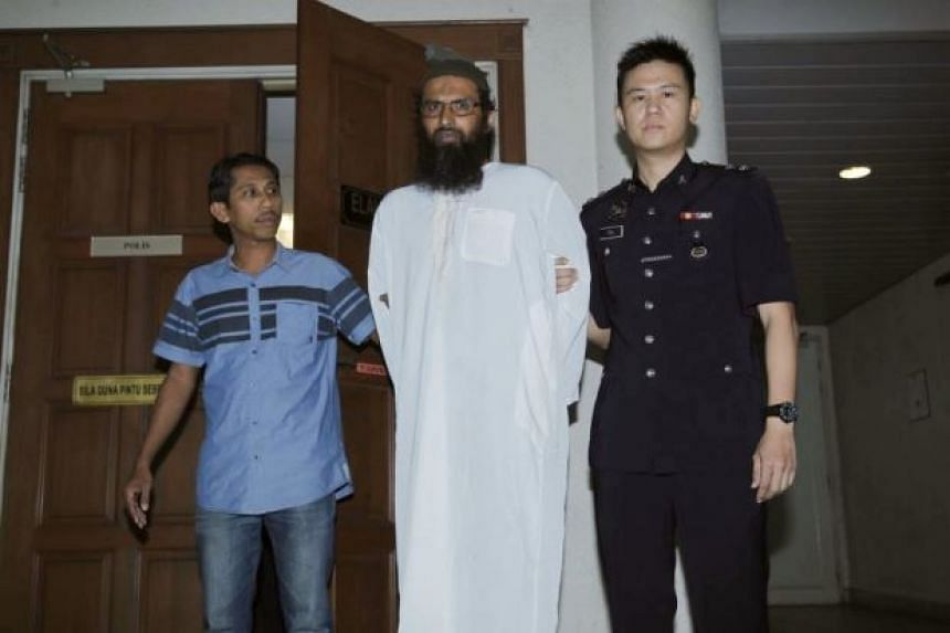 Danish national Salah Salem Saleh Sulaiman was sentenced to a week's jail and fined RM10,000 (S$3,378) under the Anti-Fake News Act.
