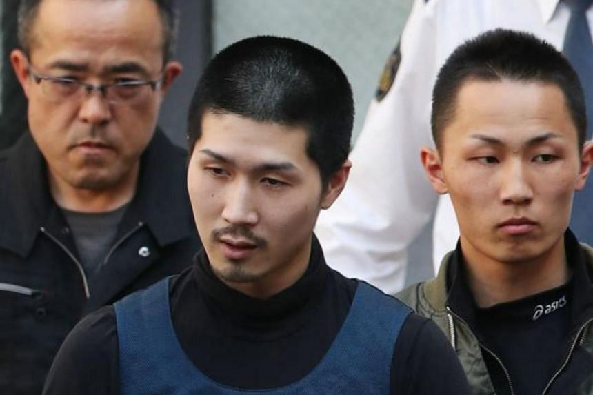 """Tatsuma Hirao, 27, a """"model"""" inmate who was serving time for multiple thefts, was arrested on a street near Hiroshima railway station in western Japan."""