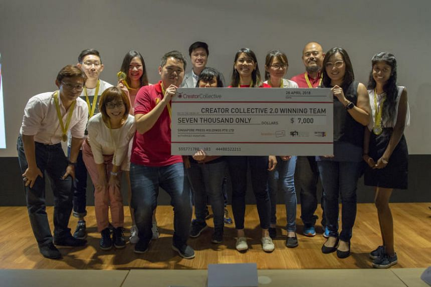 Magnificent 7 emerged as the winner of the Creator Collective, and walked away with the top prize of a $7,000 grant sponsored by SPH.