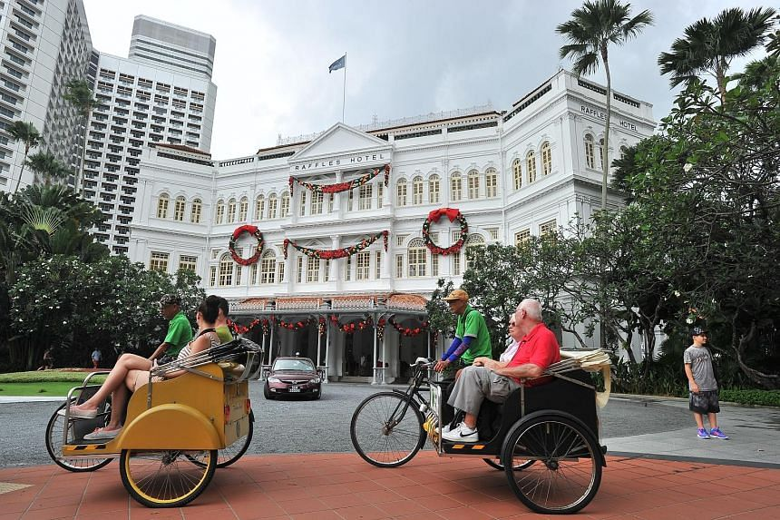 With a record 17.4 million visitors arriving in Singapore last year, the average hotel occupancy rate was over 84 per cent, a figure Colliers expects to remain unchanged this year as a result of the slowdown in supply of new rooms. It noted that hote