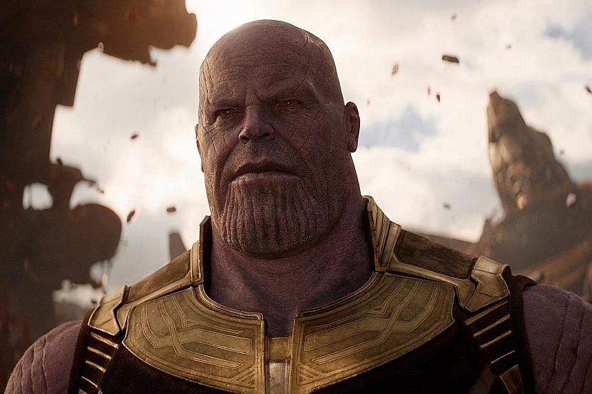 Thanos in Avengers: Infinity War is the series' biggest baddie yet.