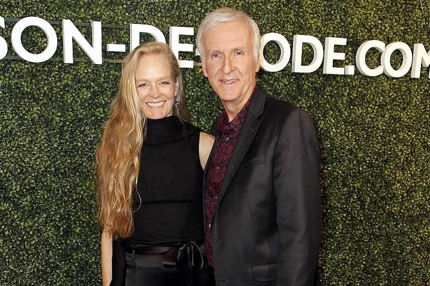 Director James Cameron (with his wife Suzy Amis) credits the 1968 sci-fi film, 2001: A Space Odyssey, for inspiring him to go into film-making.