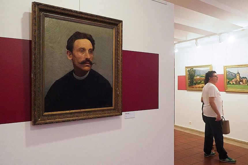 The museum dedicated to painter Etienne Terrus, in Elne, found that 82 paintings out of its 140 were counterfeit.