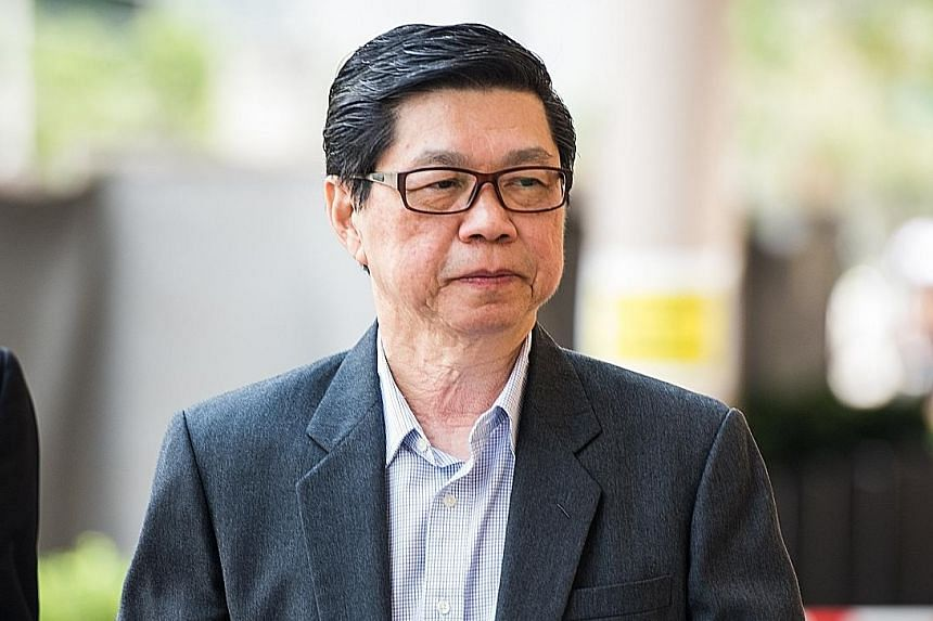 Wee Teong Boo 67, pleaded not guilty to charges of molesting and raping a 23-year-old patient.
