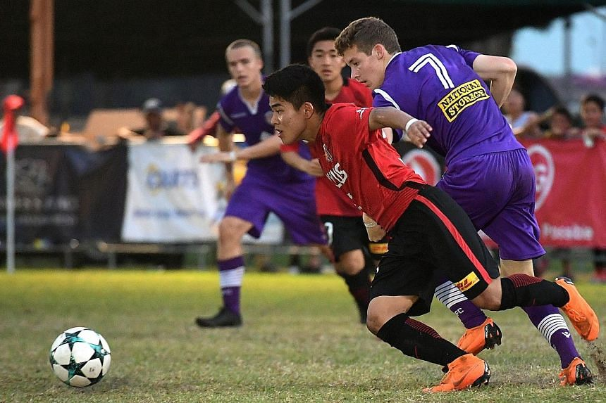 Urawa Reds beat Perth Glory 1-0 in a sudden-death play-off to be crowned JSSL Professional Academy 7s champions.