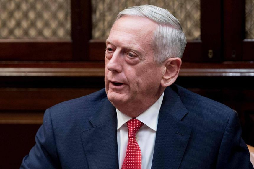 """This is the normal stuff by people who cannot win at the ballot box, so they turn to bombs,"" Pentagon chief Jim Mattis said."