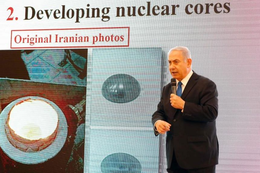"""Israeli Prime Minister Benjamin Netanyahu recently unveiled what he said was new """"proof"""" that Iran's nuclear weapons programme could be reactivated at any time."""