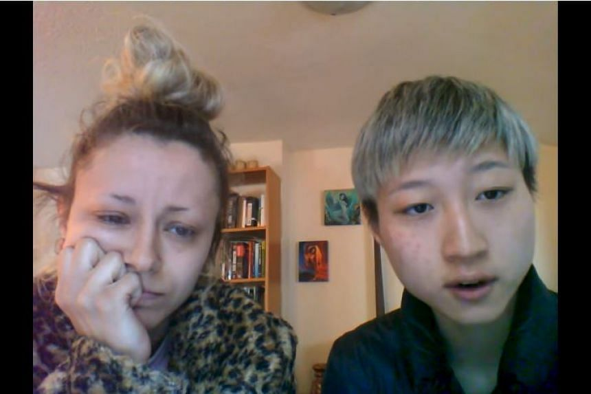 """Etta Ng said she and her girlfriend Andi Autumn have been """"homeless for a month"""", having already gone to the police, food banks, hospitals and LGBT community shelters."""