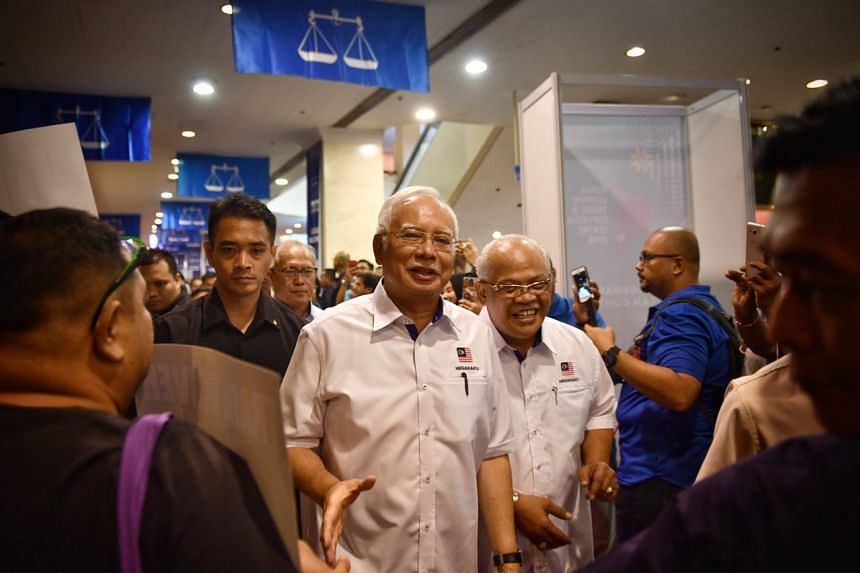 Malaysia's PM Najib Razak announced a slew of promises if his Barisan Nasional (BN) coalition is returned to power on May 9.
