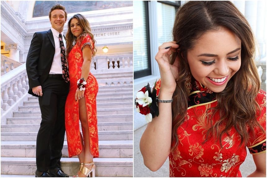 Twitter user Keziah was accused of cultural appropriation when she wore a cheongsam to her prom.