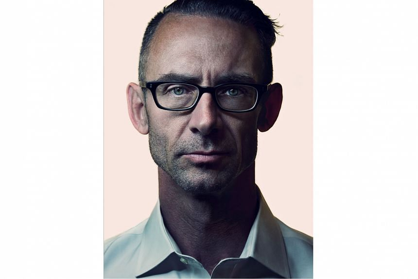 Adjustment Day is the first novel in four years for Chuck Palahniuk (above).