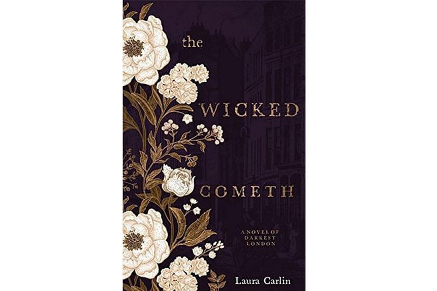 The Wicked Cometh (above) by Laura Carlin is a gritty Victorian whodunnit.