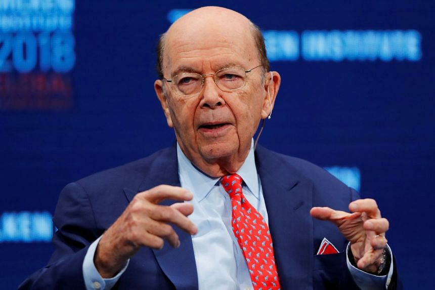 Wilbur Ross speaking at the Milken Institute 21st Global Conference in Beverly Hills, California.