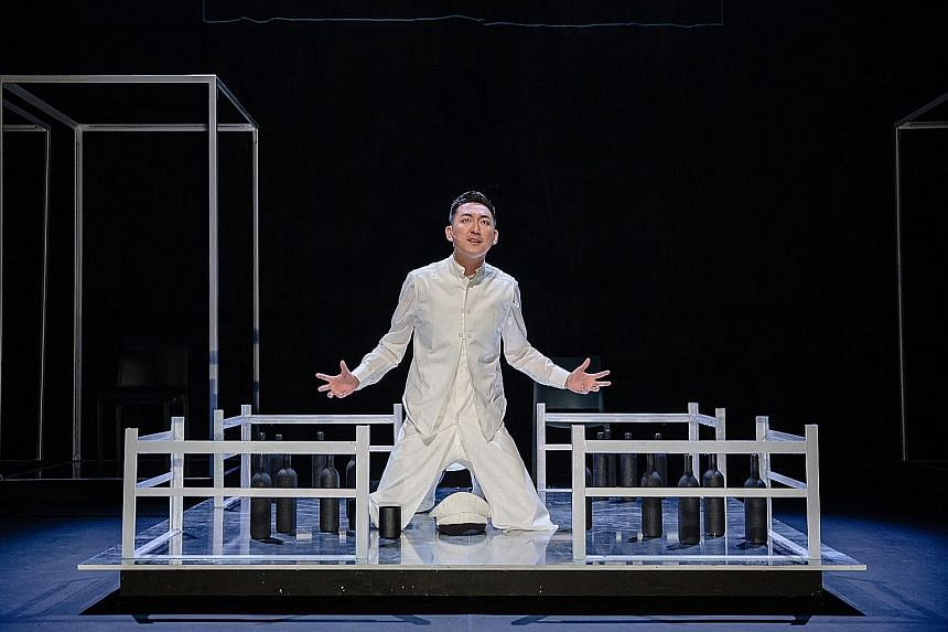 Tang Shao Wei plays a disgraced naval officer in A Dream Under The Southern Bough - The Beginning.