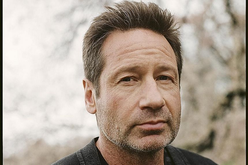 X-FILES STAR DAVID DUCHOVNY