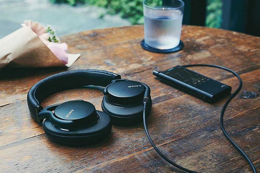 The Sony MDR-1AM2 adds oomph to songs.