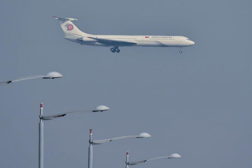 The Ministry of Land, Infrastructure and Transport said it was conducting an internal review as the routes North Korean had in mind would involve flying through South Korea's airspace.