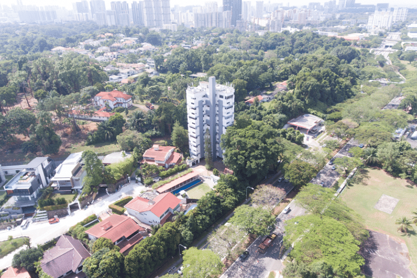 The owners' reserve price of S$65 million equates to S$1,489 per sq ft per plot ratio for the site near Holland Village.