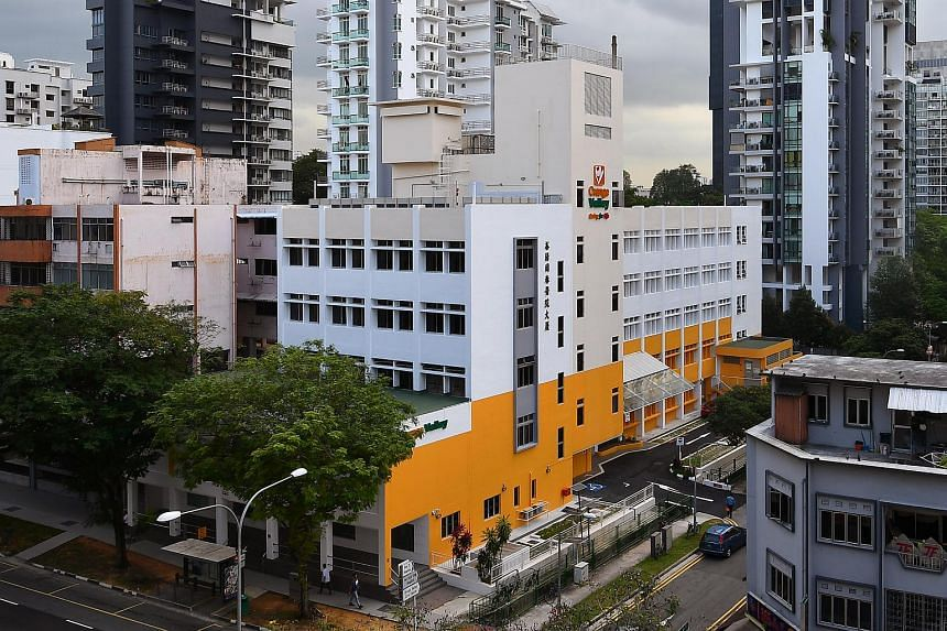 Orange Valley Nursing Home in Balestier. The trials are set to be put in place in three to six months' time.