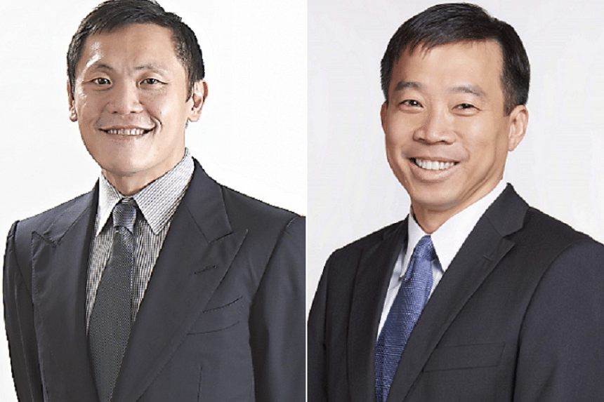 Mr Lee Chuan Teck (left) will be appointed Second Permanent Secretary for Trade and Industry on June 1, taking over from Mr Png Cheong Boon.