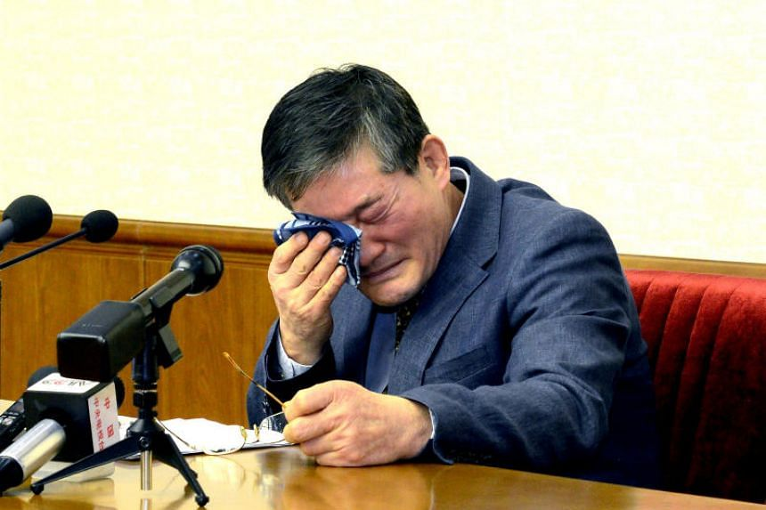 Kim Dong Chul, a South Korea-born American pastor, has been detained in the North since 2015 when he was arrested for spying. He was sentenced to 10 years' hard labour in 2016.