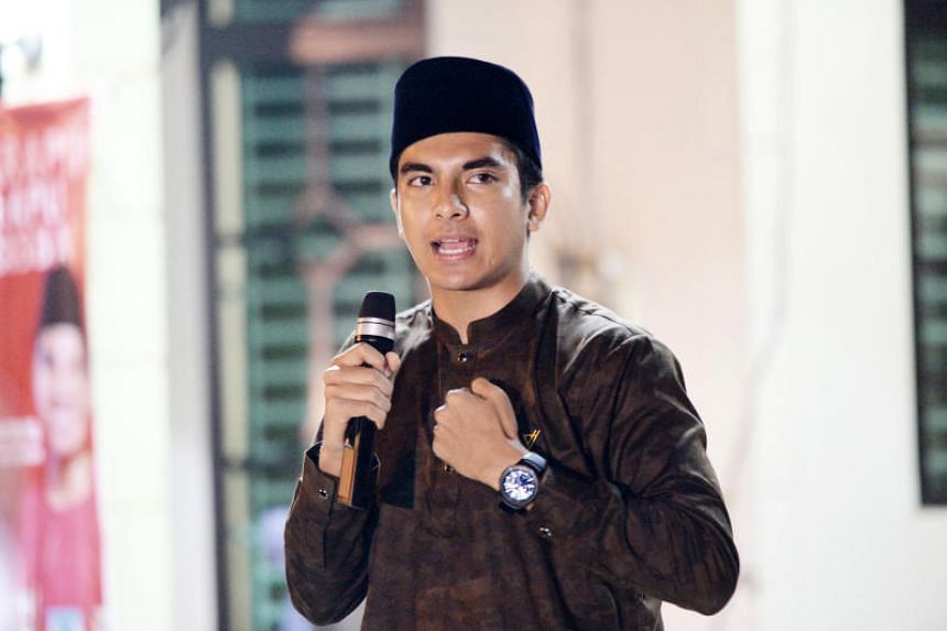 Syed Saddiq Syed Abdul Rahman has over 363,000 followers on Twitter, and half that number each on Facebook and Instagram.