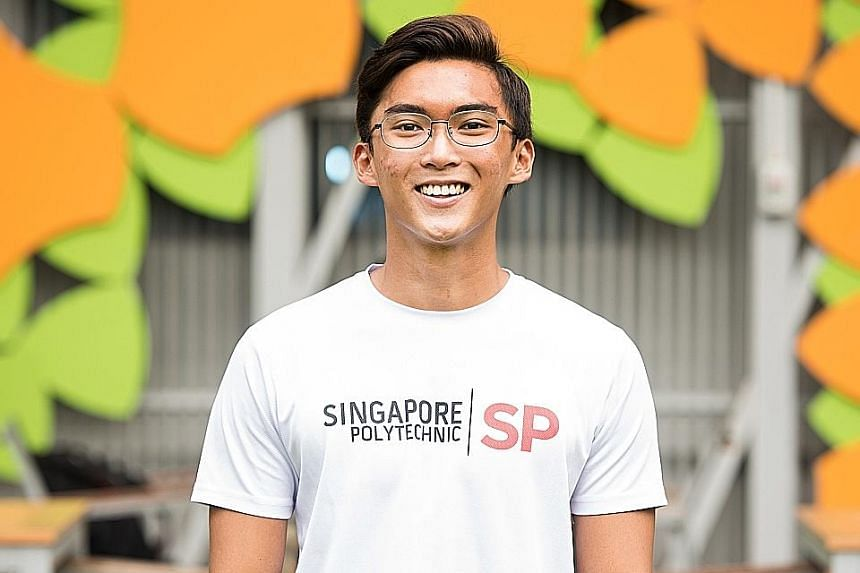Mr Tan Yu Yang, who graduated with a diploma in accountancy, was awarded the Low Guan Onn Gold Medal by Singapore Polytechnic.