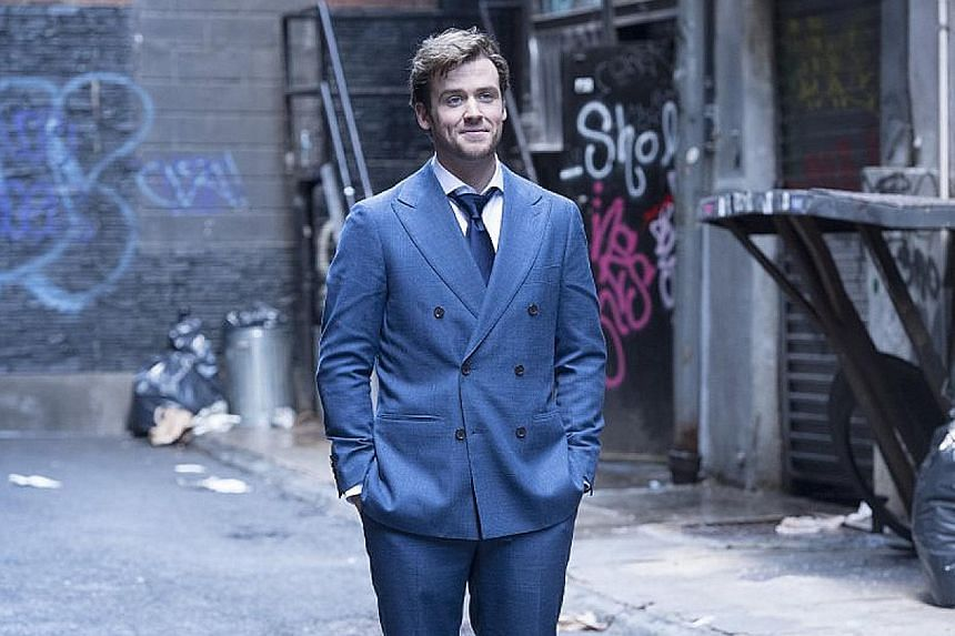 James Cutmore-Scott learnt to perform magic tricks for the show, Deception.