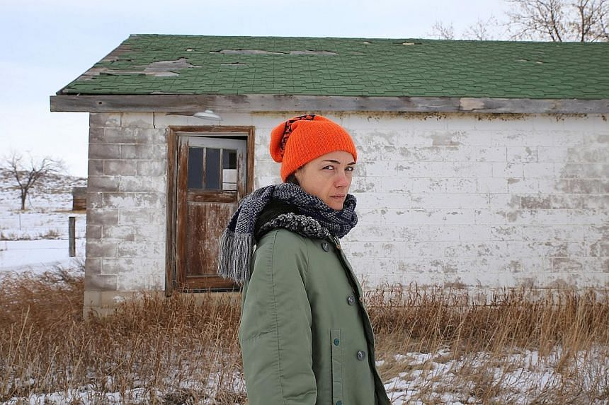 Grid Of Points is the 11th studio album of Grouper by musician Liz Harris (above).