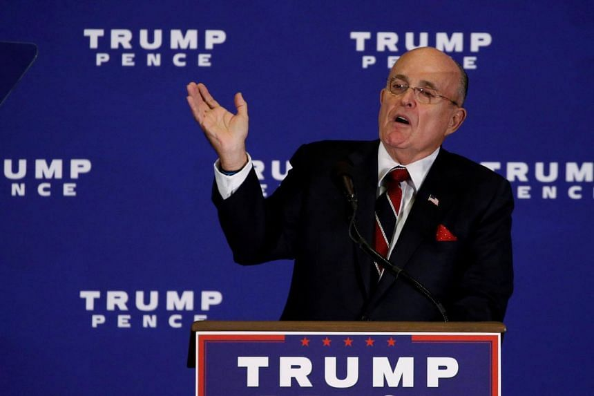 Former New York City mayor Rudy Giuliani said President Donald Trump reimbursed his personal attorney Michael Cohen the US$130,000 that was paid to porn actress Stormy Daniels.
