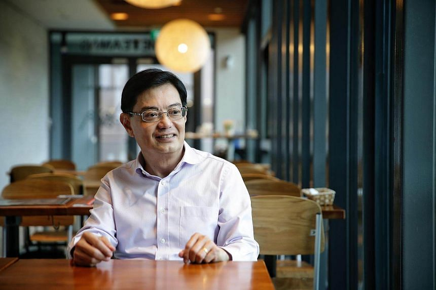 """Sustainability innovations, technologies and practices that we develop here must have the relevance and scalability to be applied in different parts of the world,"" said Finance Minister Heng Swee Keat."