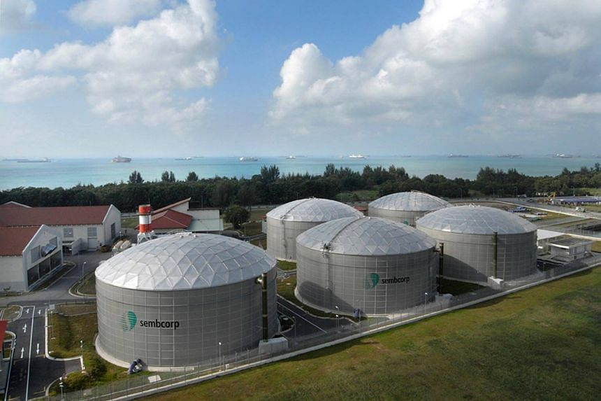 Utilities continued to be Sembcorp's key net profit contributor, with this business' net profit rising 27 per cent from 2017.