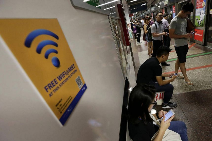 Globally, Singaporeans are the third-most Wi-Fi obsessed, behind Brazilians and Americans.
