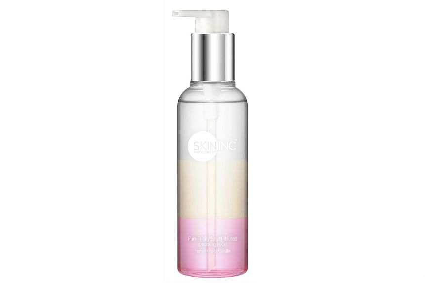 Pure Trinity Serum-Infused Cleansing H2Oil