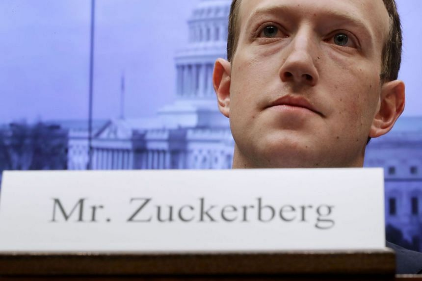 Facebook's Mark Zuckerberg testifies before Congress over the harvesting of users' personal information.