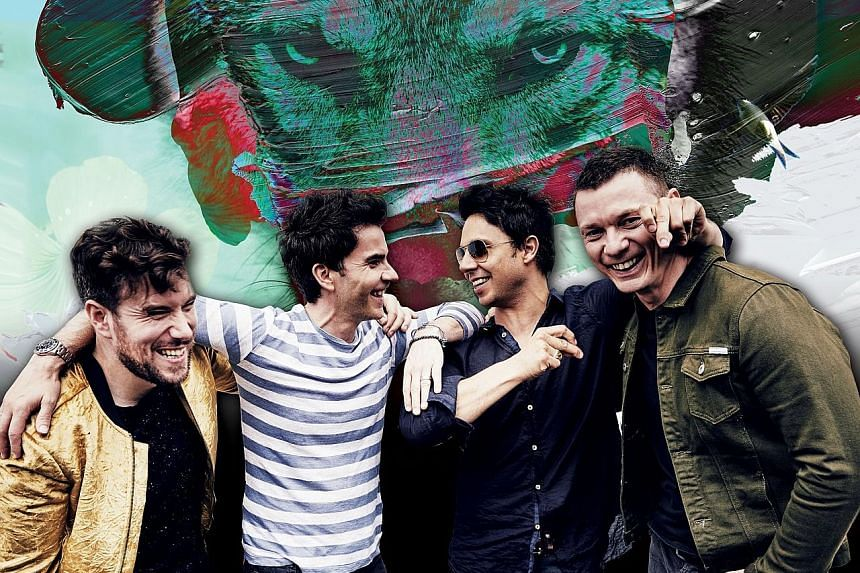 Popular Welsh rock band Stereophonics.