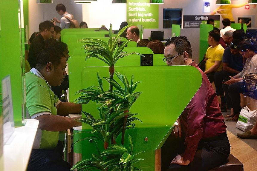 The slump in StarHub's mobile and pay-TV service revenues, as well as reduced turnover from equipment sales, could not be offset by enterprise fixed service gains.