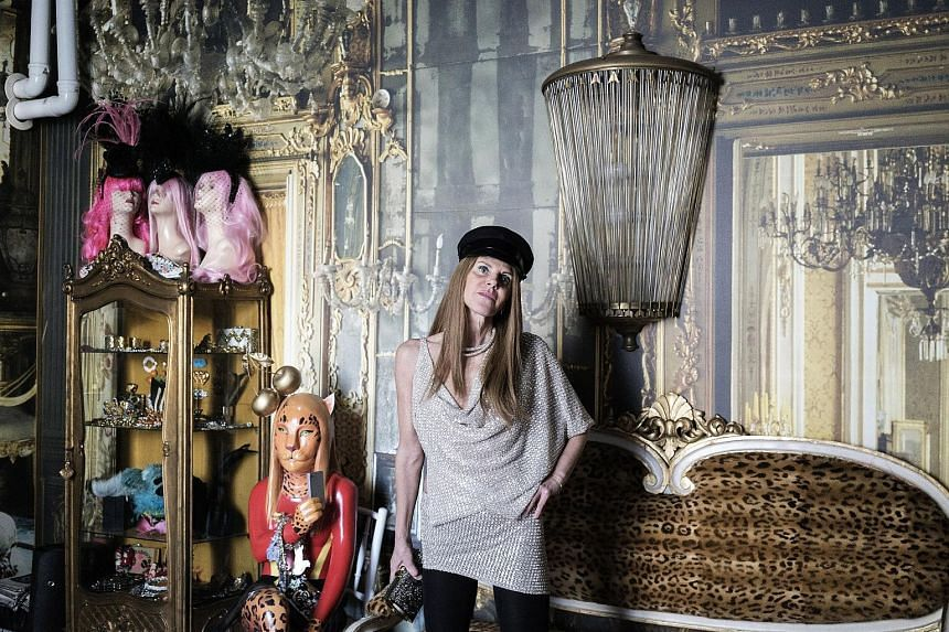 Fashion journalist Anna Dello Russo sold her clothes at a Christie's auction and on Net-a-Porter.