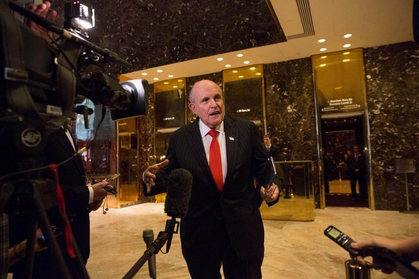 Former New York Mayor Rudy Giuliani's remarks raised questions about the US President Donald Trump's truthfulness and created a firestorm at the White House.