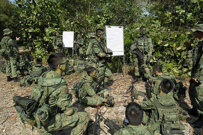 The Singapore Armed Forces said that soldiers with temperatures above 37.5 deg C will not be allowed to participate in training.
