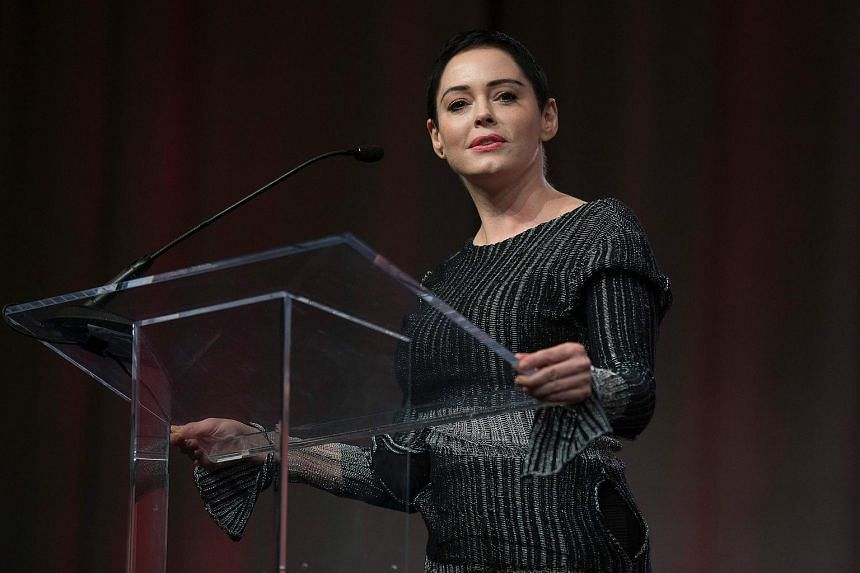 Actress Rose McGowan is accused of leaving a wallet with cocaine inside it on a plane at Dulles International Airport in January 2017.