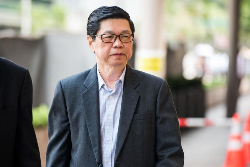 Wee Teong Boo, 67, appearing in court on April 30, 2018. He pleaded not guilty to charges of molesting and raping a 23-year-old student.