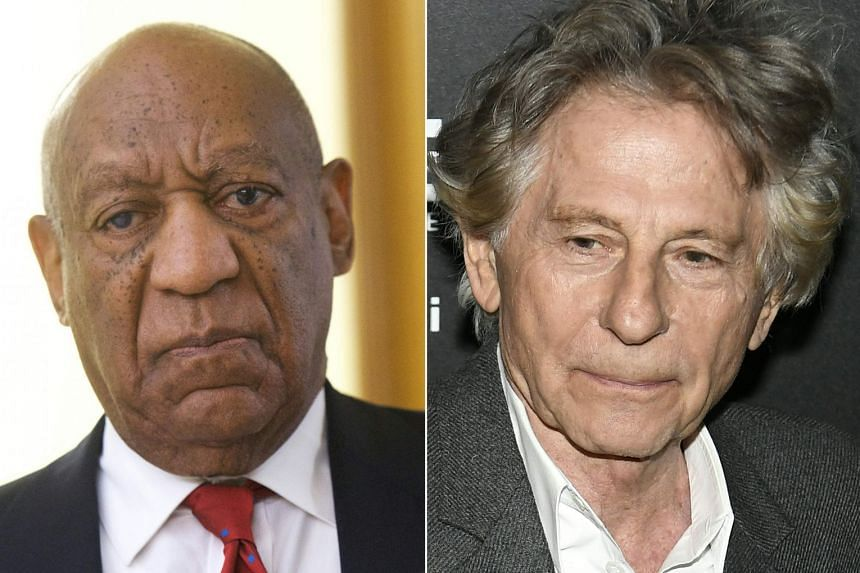 Cosby (left) and Polanski have been expelled from the Academy of Motion Picture Arts and Sciences.