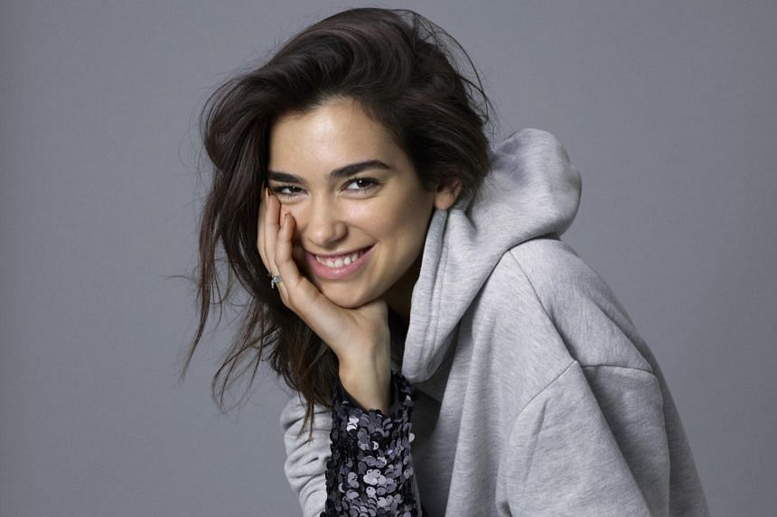 Singer Dua Lipa said she has her fans to thank for her evolution over the past year.