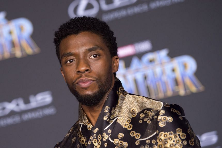 Star Chadwick Boseman attends the world premiere of Marvel Studios' Black Panther, in Hollywood.
