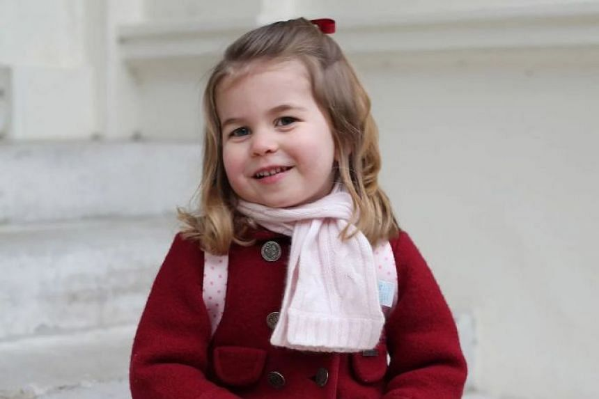 Princess Charlotte Elizabeth Diana is fourth in line to the throne, as the second child of the Duke and Duchess of Cambridge.