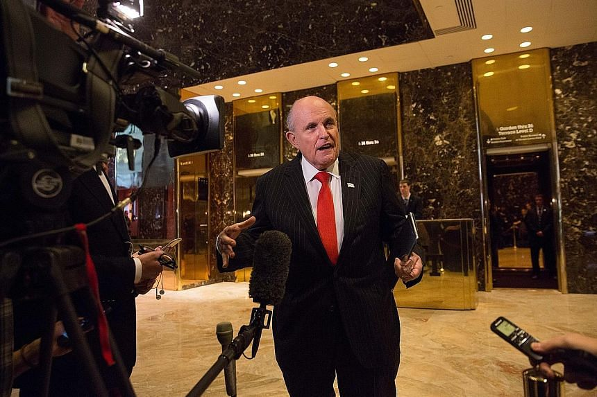 Mr Rudy Giuliani, a former New York mayor, said his disclosure was intended to prove that Mr Donald Trump and his personal lawyer violated no campaign finance laws, but some among the President's other legal and political advisers fear the gambit cou