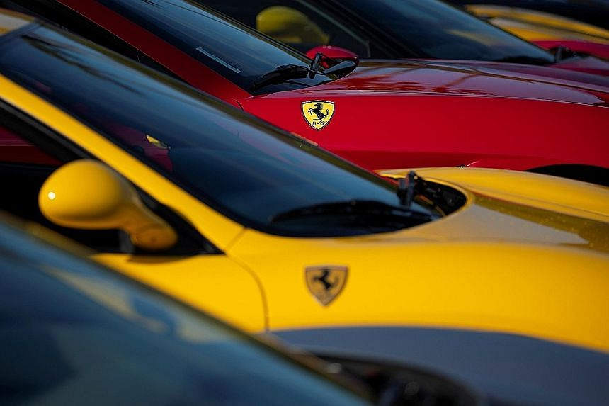 Italian supercar manufacturer Ferrari sold out most of its models for 2018 and a part of next year's models.